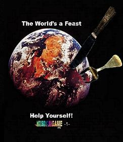 The world is a feast. Self help manual at wisdomgame.org