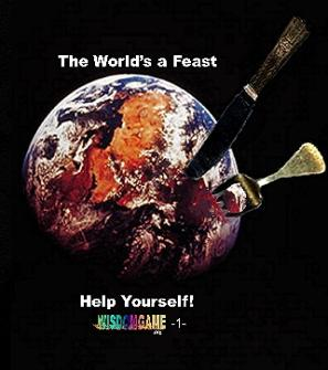 Self help manual: The World is a Feast by Stephen P. Means